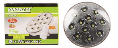 SMD LED světlo na dálkové ovládání 70 LED