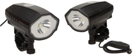 LED přední světlo na kolo s držákem SB-269