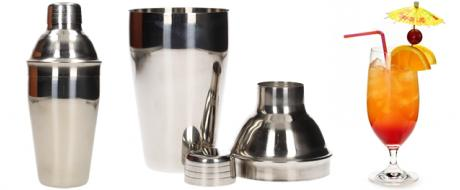 Shaker na koktejly nerez 550 ml