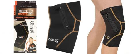 Copper Fit Plus neoprenová kolenní bandáž