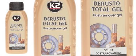 K2 DERUSTO TOTAL GEL 250ml - odstraňovač rzi
