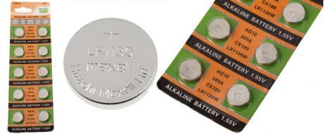 Knoflíková baterie AG10 389A CX189 LR1130W 1,55V