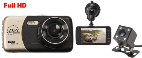 Kamera do auta se zadní kamerou H503
