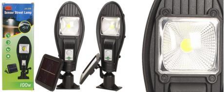 LED solární venkovní světlo 100W JX-258