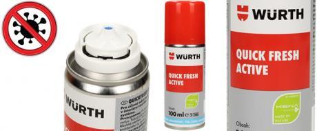 Antibakteriální čistič a odstraňovač zápachu Guick Fresh Active