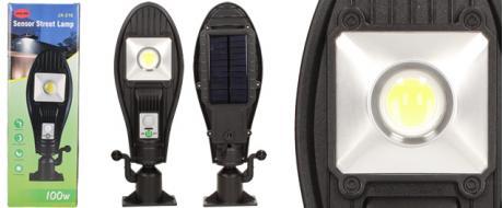 LED solární venkovní světlo 100W JX-216