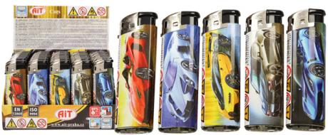 Sada zapalovačů rychlá auta 50 ks