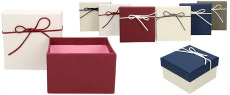 Dárková krabička 11x11x7 cm