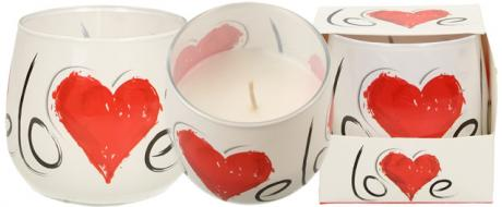 Vonná svíčka Love
