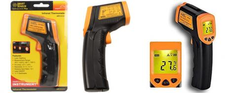Infračervený teploměr AR360A+ pistolový