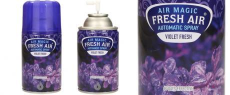 FRESH AIR náplň do automatického osvěžovače vzduchu 260ml - Violet