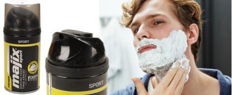 Pěna na holení Sport žlutá