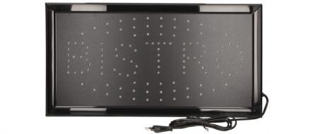 Barevná světelná LED tabule BISTRO