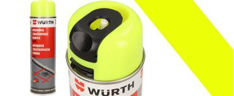 Würth neonová značkovací barva žlutá 500ml