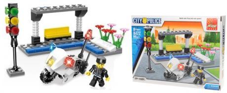 Stavebnice Peizhi City Police 0472