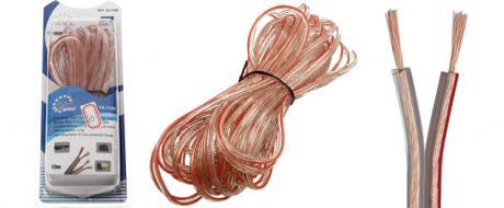 Kabel na propojení reprosoustav YX-1189 10m