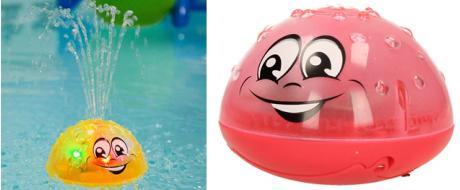 Stříkající hračka do vody 3D light