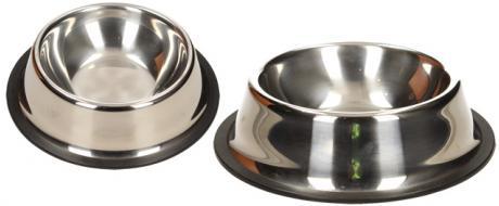 Kulatá nerezová miska pro psy 13 cm