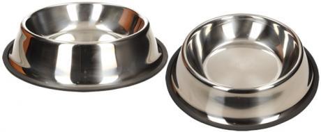 Kulatá nerezová miska pro psy 23 cm