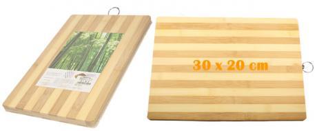 Bambusové prkénko 30 x 20 cm
