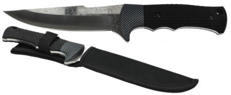 Hobby lovecký nůž s květinovým vzorem