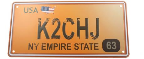 Cedule značka USA 30x15,5 cm NY EMPIRE STATE