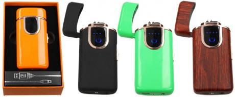 Plazmový zapalovač s USB nabíječkou 4303009