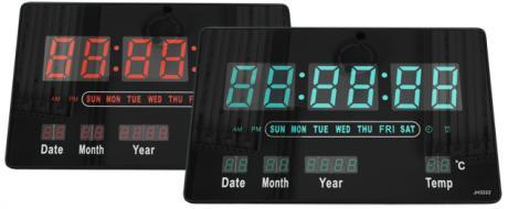 Digitální LED hodiny JH3222