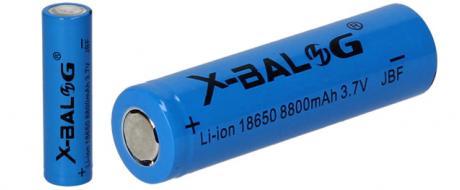 Dobíjecí baterie X-Balog 5200mAh 3.7V