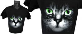 Tričko kočka s očima