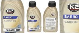 K 2 SAE 30 600 ml - zahradní olej