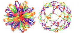 Skládací míč barevný velký