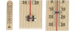 Teploměr dřevěný malý