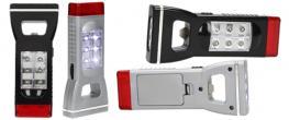 Multifunkční Otvírák s LED baterkou Sanan 4v1