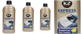 K2 EXPRESS 500 ml - šampon bez vosku