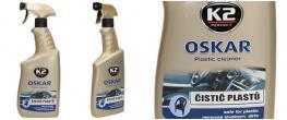 K2 OSKAR 770 ml - čistič plastů ve spreji