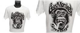 Tričko Gas Monkey Garage bílé