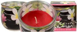 Vonná svíčka welness SPA pink