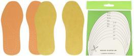 Vložky do bot z latexové pěny univerzální