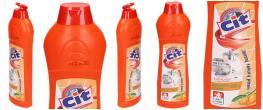 CIT Jemný tekutý písek 600 g pomeranč