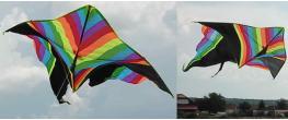 Létající drak 150 cm barevný