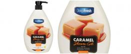 Deep Fresh sprchový gel caramel 1L