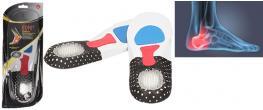 Vložky do bot se silikonovou podložkou paty pánské