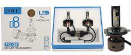 LED autožárovka FOYUD8 H4 CANBUS 10-30V 36W