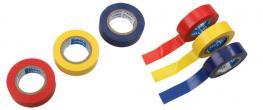 3ks Elektroizolačních pásek 15mm x 15m- modrá, žlutá, červená