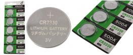 Knoflíková baterie CR2330 3V 1 kus