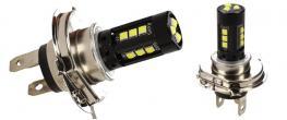 LED žárovky H4 super svítivá 2 kusy