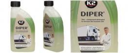 K2 DIPER 1 kg - dvousložkový prostředek k odstranění nejtěžších nečistot
