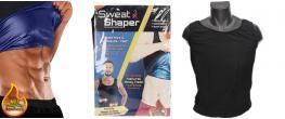 Pánské zeštíhlující tílko podporující pocení Sweat & Shaper 2XL/3XL