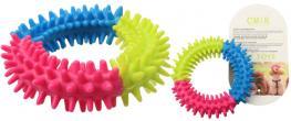 Gumový kruh pro psa 9 cm